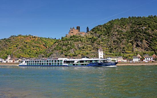 Romantic Rhine River