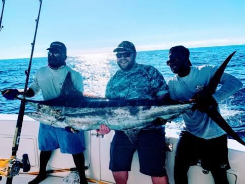 200 lb Blue Marlin